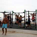 Barcelona Strand Bodybuilding