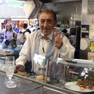 Markt Barcelona Pinotxo