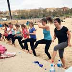 Barcelona Beach Workout