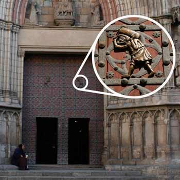 Kathedrale des Meeres Steineschlepper