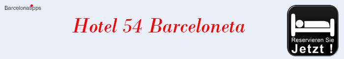 Hotels am Strand von Barcelona H54