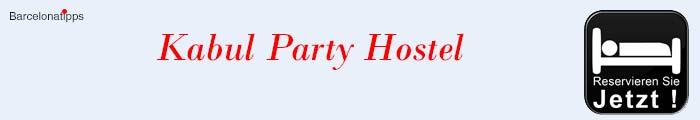 Jugendherberge Barcelona Kabul Party