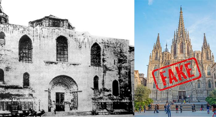 Kathedrale Barcelona gotisches Viertel