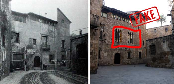 Gotisches Viertel Casa dels Canonges