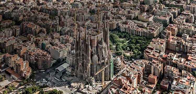 Barcelona Berge