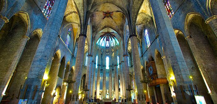Kathedrale des Meeres in Barcelona