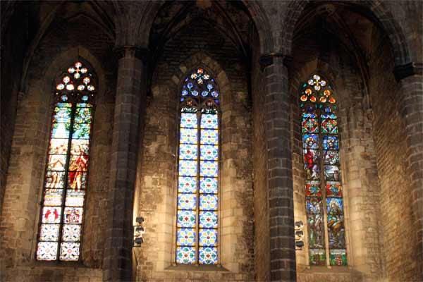 Kathedrale des Meeres Fenster