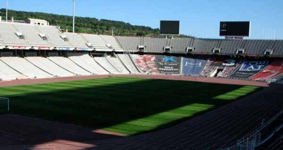 Olympiastadion Montjuic Barcelona