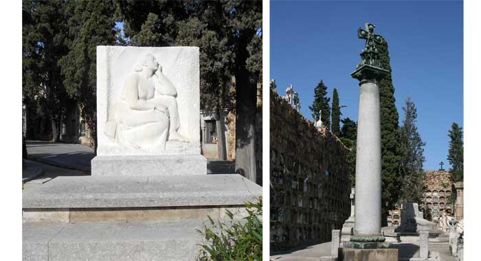 Friedhof Montjuic Barcelona