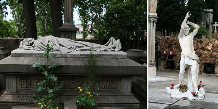 Friedhof Montjuïc Realismus