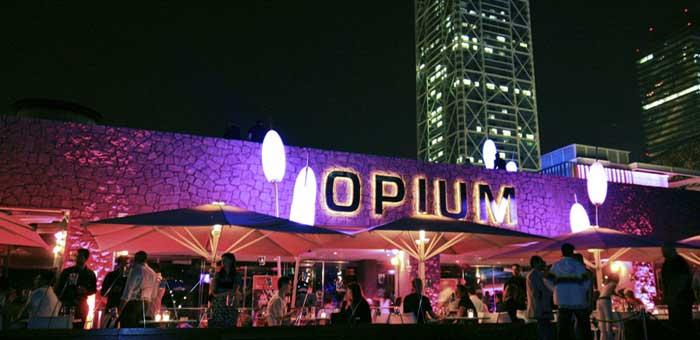 Beach Club Barcelona Opium