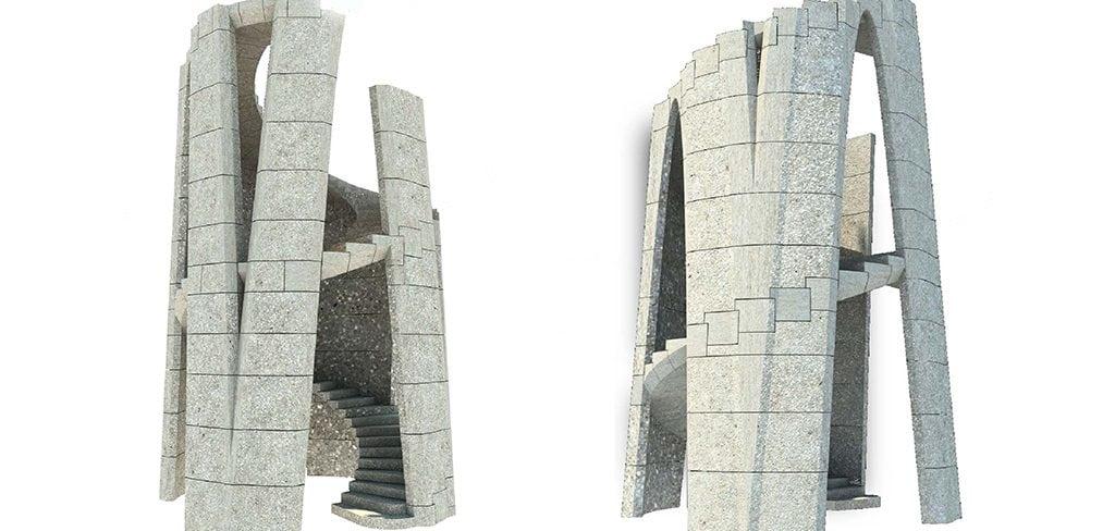 Hauptturm Sagrada Familia