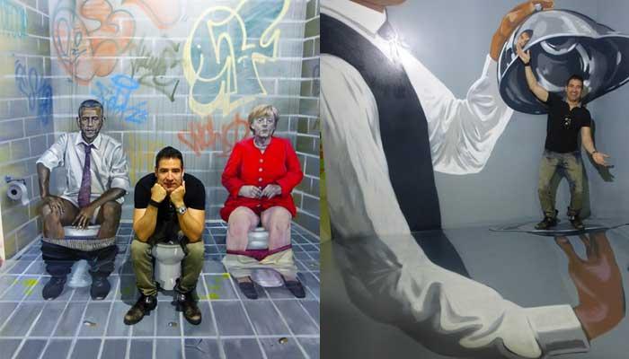 Barcelona für Kinder Museum der Illusionen