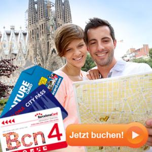 Barcelona City Pass jetzt buchen