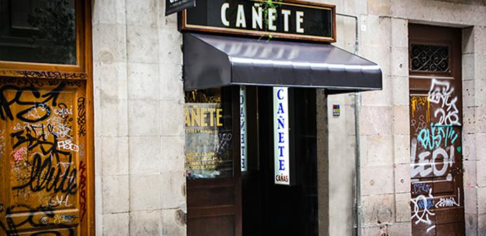 Bar El Cañete Barcelona